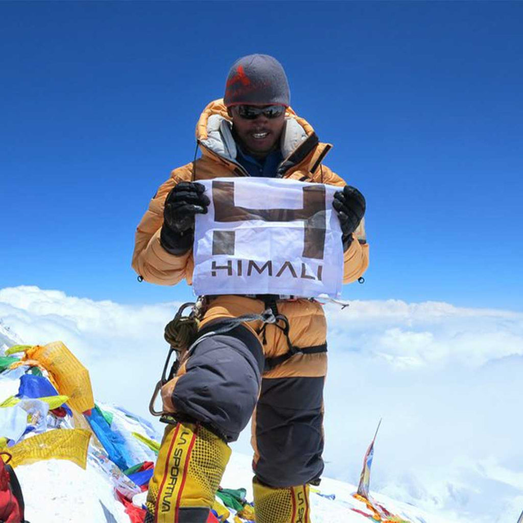 HIMALI™ Cofounder, Tendi Sherpa - 11th Summit of Mt. Everest