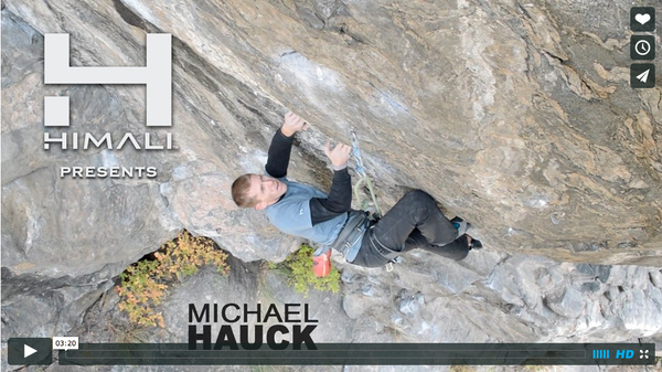 "HIMALI™ Athlete Michael Hauck in ""Twitch"""