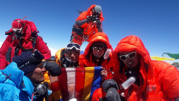 Pasang Tendi Sherpa Mount Everest Summit 2016