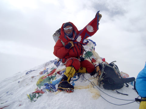 Tendi Sherpa Everest Summit HIMALI
