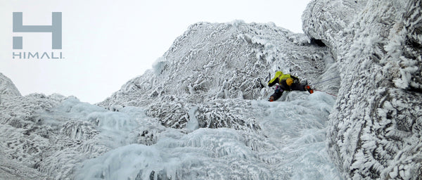 Rob Powell Ice Climbing HIMALI