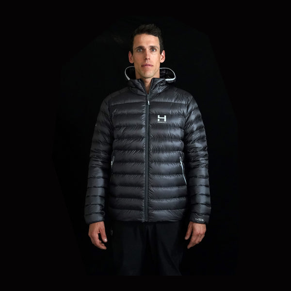 The Altocumulus Down Jacket 2.0 Men's Hooded - Cloudy Sky