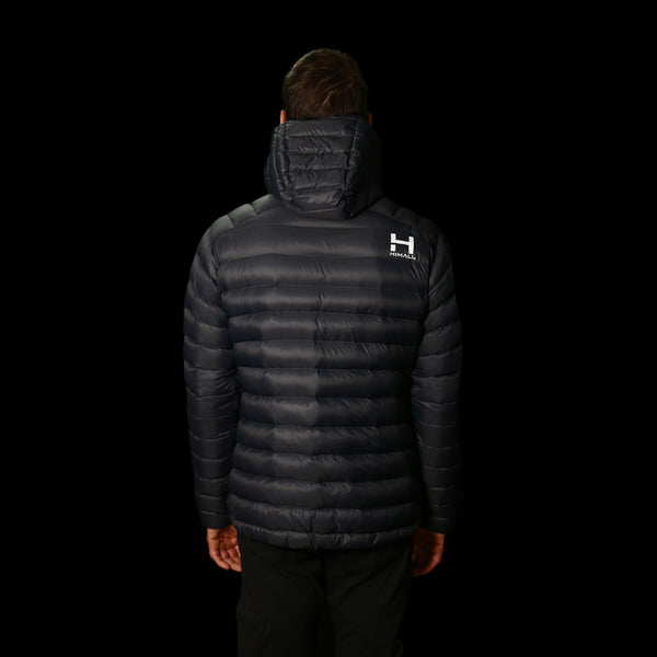 The Altocumulus Down™ Jacket Mens - Hooded - Deep Space