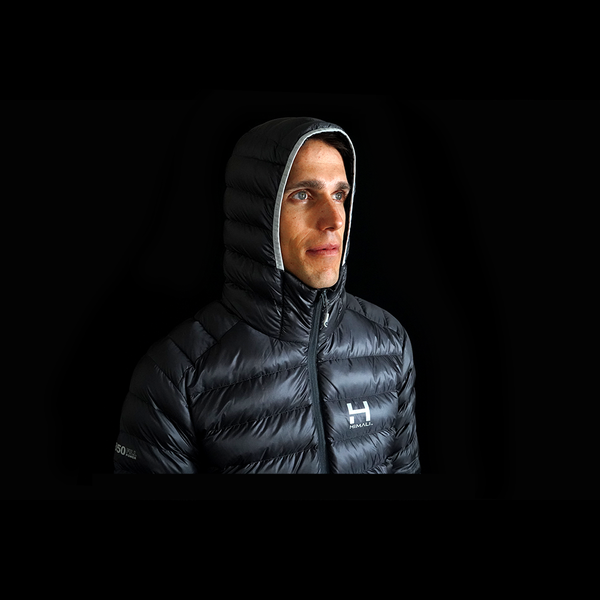 The Altocumulus Down Jacket 2.0 Men's Hooded - Stone Blue