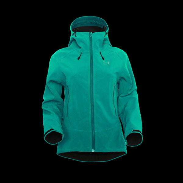 Annapurna Softshell Womens - Hooded - Mint