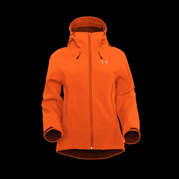 Annapurna Softshell Womens - Hooded - Lava Red
