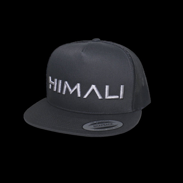 HIMALI™ Flat Bill Hat - Charcoal