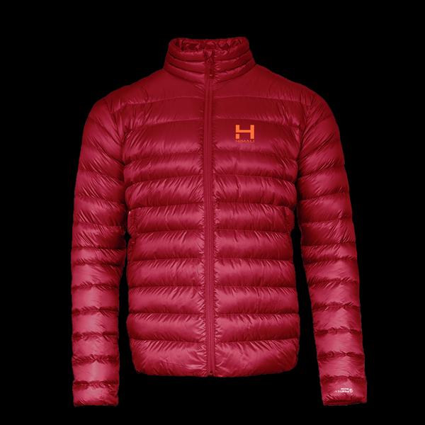 The Altocumulus Down Jacket 2.0 Men's NonHooded - Monk Red