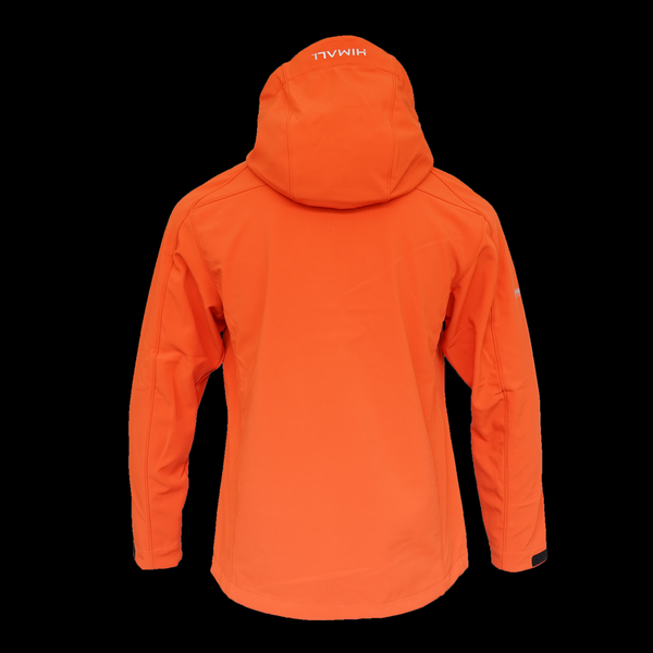Annapurna Softshell Hooded Mens - Lava Red