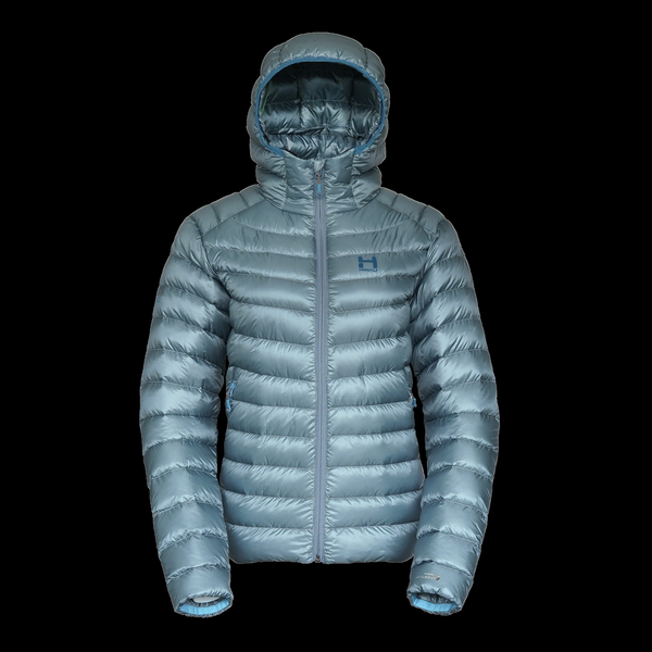 The Altocumulus Down Jacket 2.0 Hooded - Womens - Cloudy Sky