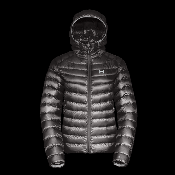 The Altocumulus Down Jacket 2.0 Hooded - Womens - Deep Space