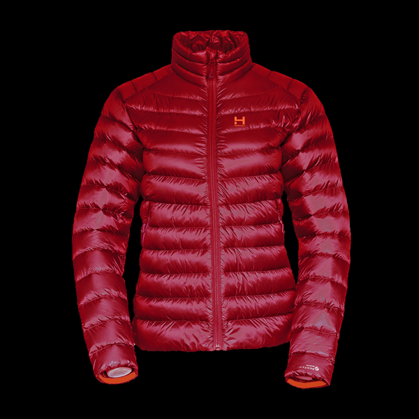 The Altocumulus Down Jacket 2.0 NonHooded - Womens - Monk Red