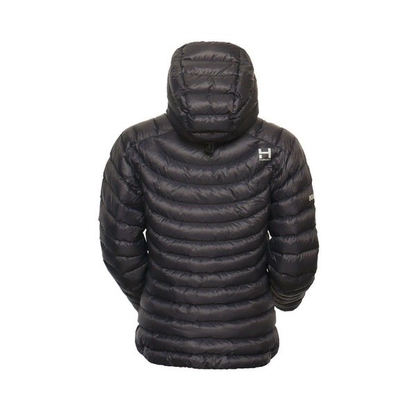 The Altocumulus Down™ Jacket Womens - Hooded - Deep Space