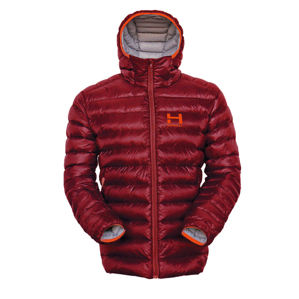 The Altocumulus Down™ Jacket Mens - Hooded - Monk Red - NOW SHIPPING