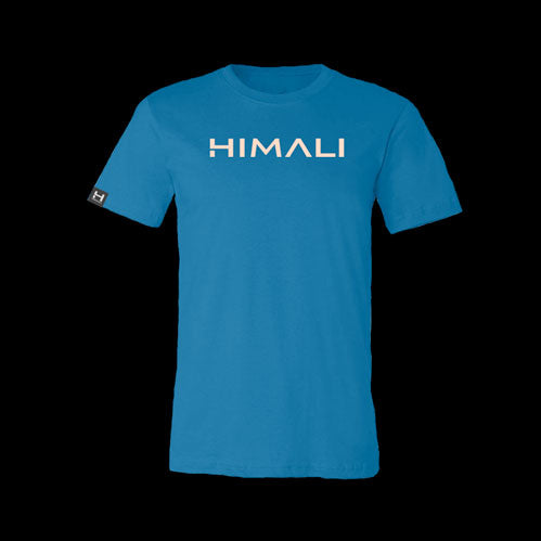 Mens HIMALI™ Logo Tech Tee Tshirt - Far Blue