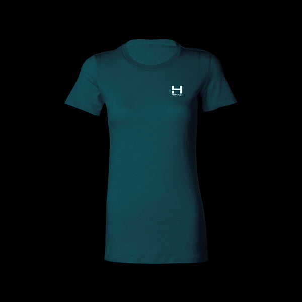Womens HIMALI™ Logo Tech Tee Tshirt - Deep Freeze