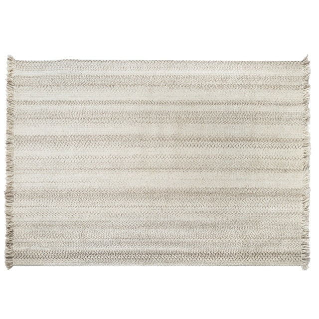 New Hand-woven Wool Carpet for Living Room Nordic Test
