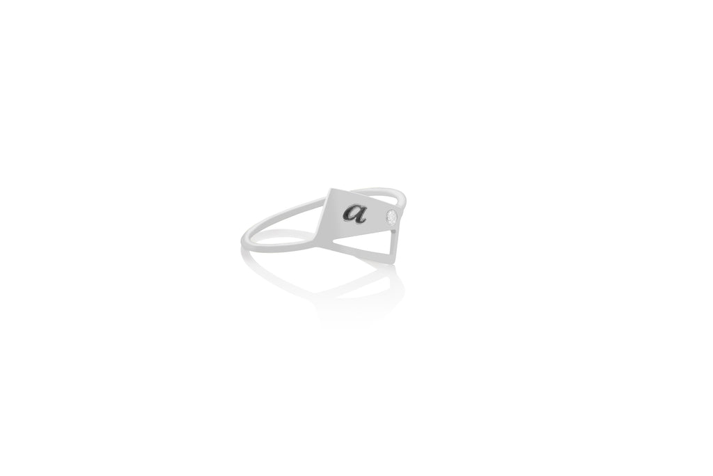 Tag You're It Initial Ring