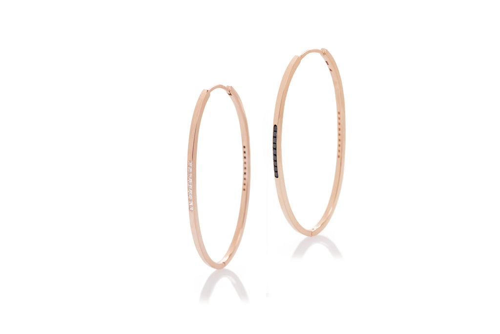 Heads or Tails Reversible Long Hoops