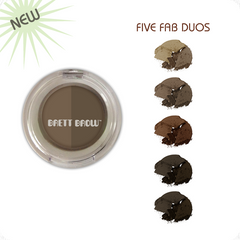 Brett Brow<br>Duo-Shade<br>Brow Powders