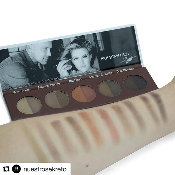 Brett Brow Duo-Shade Powder Pro Palette