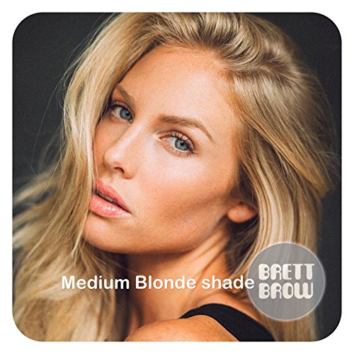 Brett Brow Duo-Shade Powder (Medium Blonde)