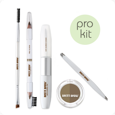 Brett Brow Duo-Shade Kit (Pale Blonde)