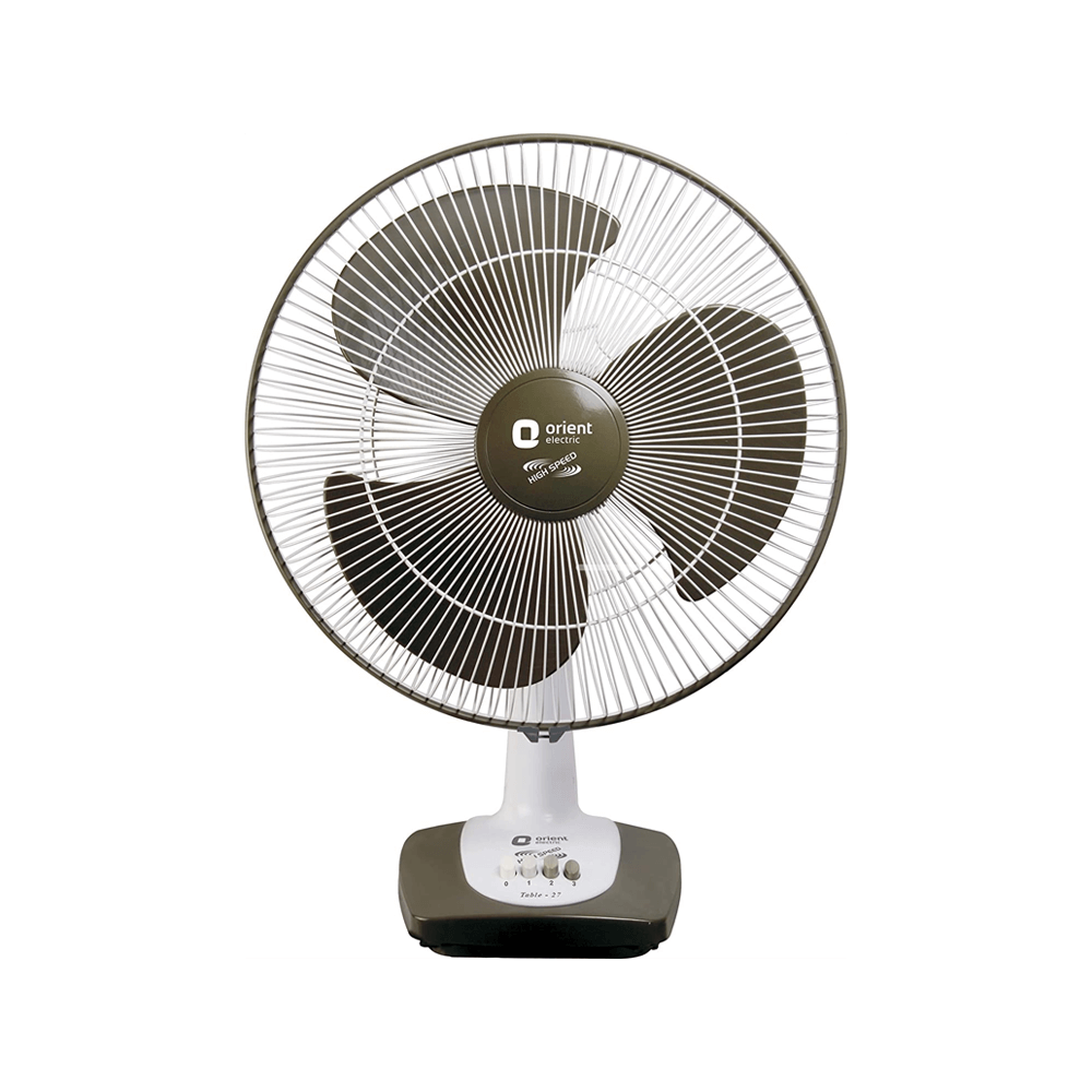Orient Electric Table-27 400mm Table Fan Commander Grey
