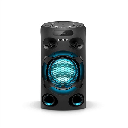 Sony MHC-V02 Home Audio Portable Party Speaker with Bluetooth, Karaoke and Jet Bass Booster