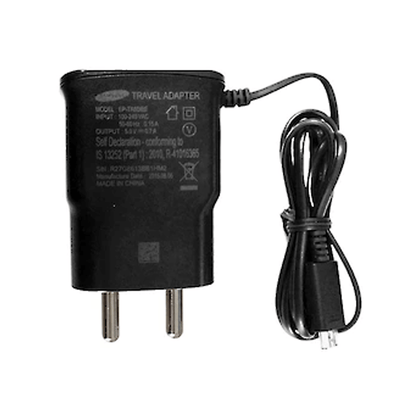 Samsung EP-TA60IBEUGIN Travel Adaptor (Black)