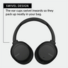 Sony WH-CH710N Noise Cancelling Wireless Headphones : Bluetooth Over The Ear Headset with Mic for Phone-Call, 35 Hours Battery Life, Quick Charge and Google Assitant