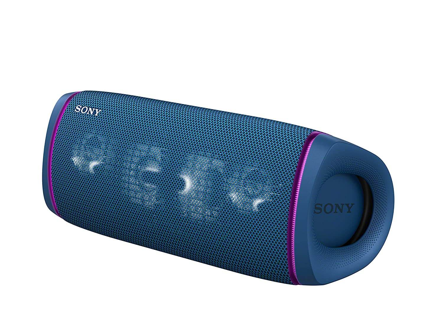 Sony SRS-XB43 Wireless Extra Bass Bluetooth Speaker with 24 Hours Battery Life, Party Lights, Party Connect, Waterproof, Dustproof, Rustproof, Speaker with Mic, Loud Audio for Phone Calls