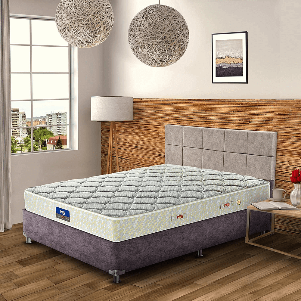 Peps Restonic Carousel 6 inch Pocketed Spring Mattress with Free Pillow