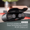 Sony WF-1000XM3 Truly Wireless Bluetooth Earbuds/Earbuds with Battery Life 32 Hours, Alexa Voice Control and mic for Phone Calls – True Wireless Industry Leading Active Noise Cancellation