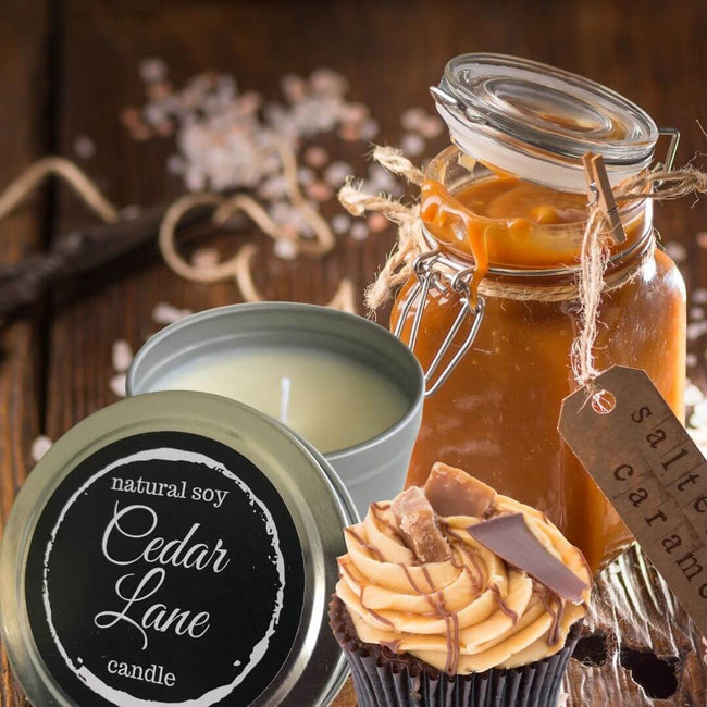 Candle Tin | Salted Caramel | Ecofriend