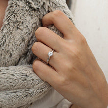 Load image into Gallery viewer, Chloe • Classic Diamond Engagement Ring