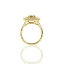 Load image into Gallery viewer, Eve • 14K Gold Mandalay Diamond Ring