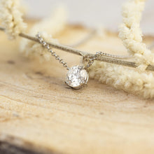 Load image into Gallery viewer, Lilach • Brilliant Cut Fixed Diamond Necklace