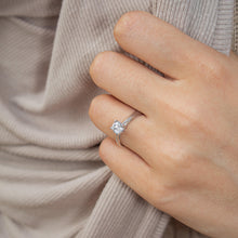 Load image into Gallery viewer, Sandra • Sweetheart Diamond Engagement Ring