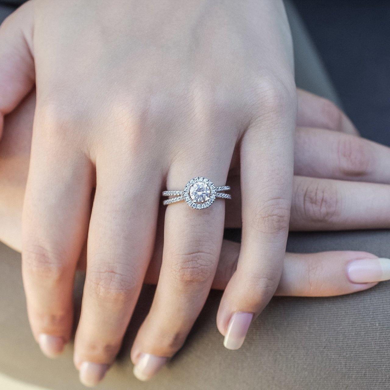Sky • Endless Diamond Engagement Ring