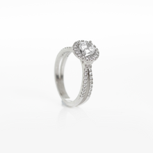 Load image into Gallery viewer, Sky • Endless Diamond Engagement Ring