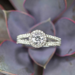Endless Sky Diamond Engagement Ring