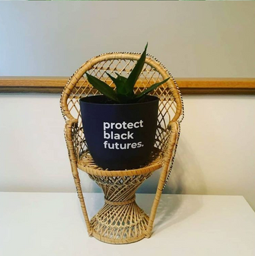 "Protect Black Futures (6"" Planter)"