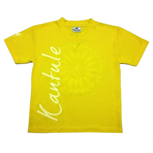 MET T-SHIRT V-NECK DRY FAST AMARILLO - T-Shirts Interamerica, S.A.