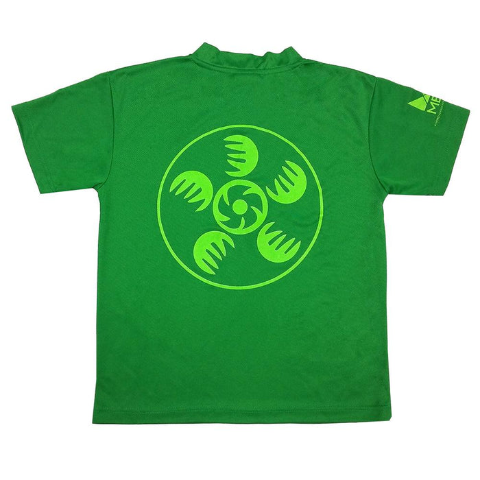 MET T-SHIRT V-NECK DRY FAST VERDE LIMON - T-Shirts Interamerica, S.A.