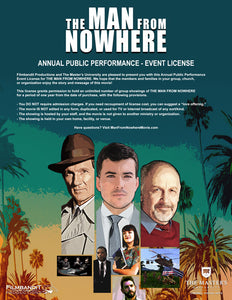 The Man From Nowhere - Event License