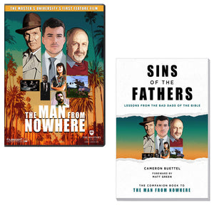 The Man From Nowhere DVD & Companion Book - Pack