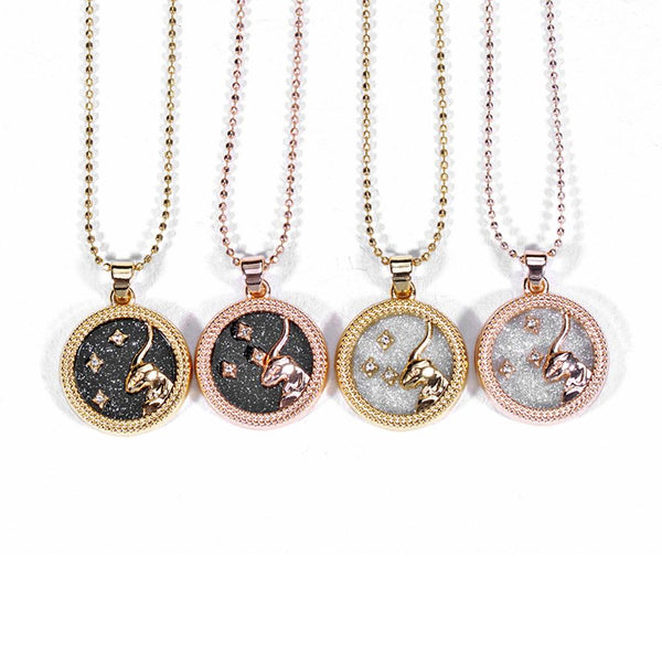 12 Constellation Necklace Star Sign
