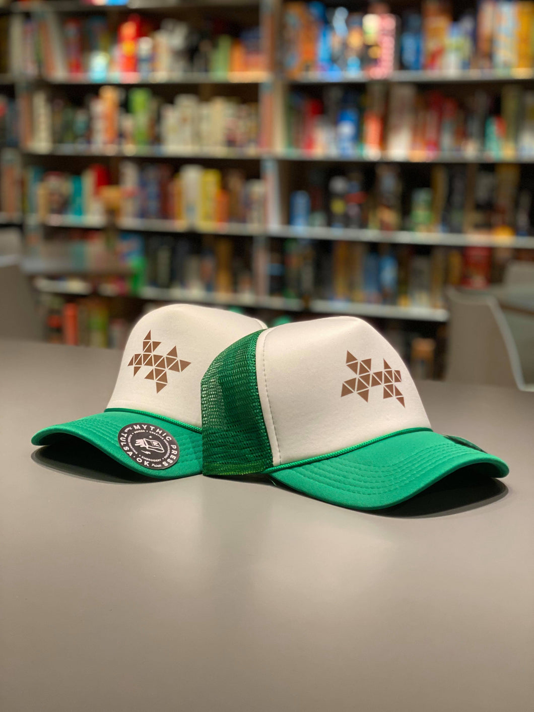 Shuffles Logo Trucker Hat - Green