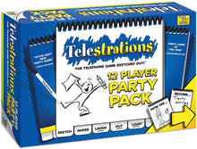 Load image into Gallery viewer, Telestrations 12 Player Party Pack